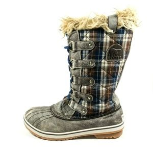 Sorel Tofino Plaid Waterproof Insulated Tall Boots